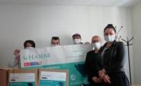 Donirani prehrambeni paketi za 25 socijalno ugroženih osoba