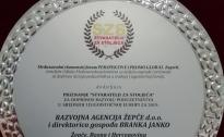 RAŽ dobitnik međunarodne nagrade za doprinos razvoju poduzetništva