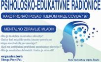 PSIHOLOŠKO-EDUKATVINE RADIONICE NAMIJENJENE MLADIM NEZAPOSLENIM OSOBAMA