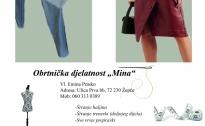 """Projekt PPMG- Promocija najuspješnijih - Obrtnička djelatnost """"Mina"""""""